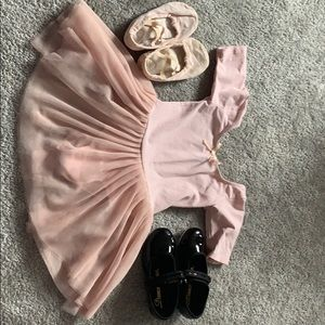 Other - Ballet and tap dance dress XS and shoes size 9